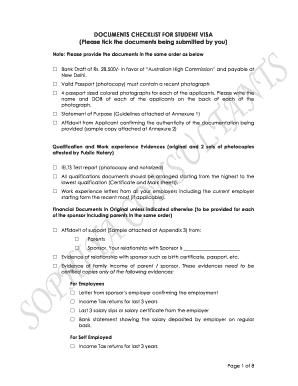 canada study permit document checklist