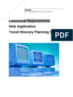 website technical requirements document example