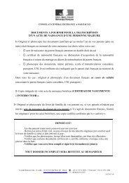 consultat de france a montreal document detat civil