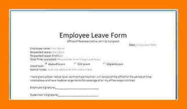 document from employer after leaving job