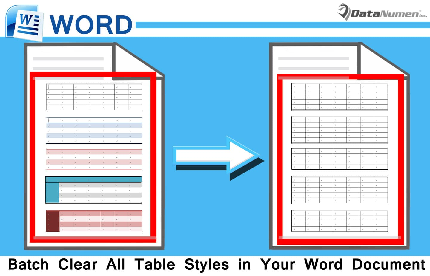 how to style word document