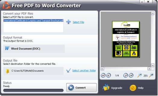 convert pdf to word document free download software