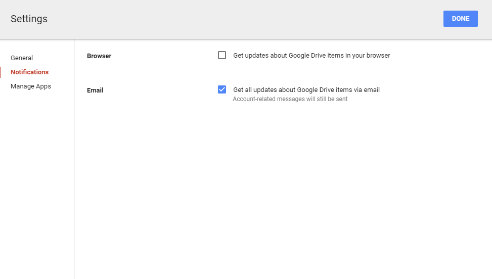 google drive shared document delete