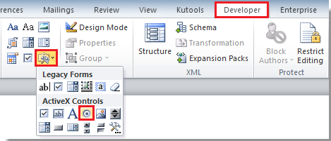 how to put a word document as widget