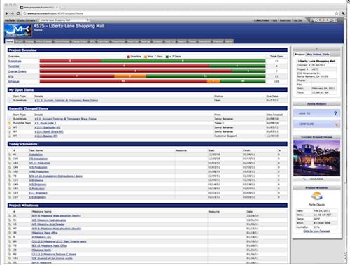 construction project document management system
