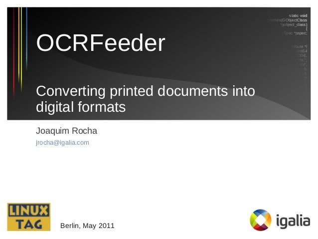 convert printed document to digital