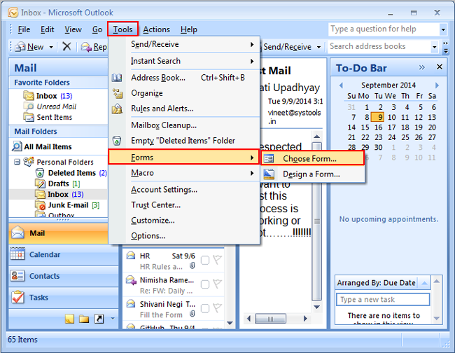 create outlook template from word document