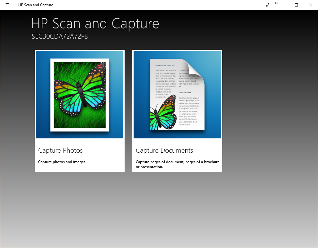 how to scan a document from hp printer to email