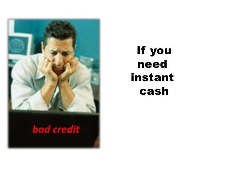 no document loans bad credit