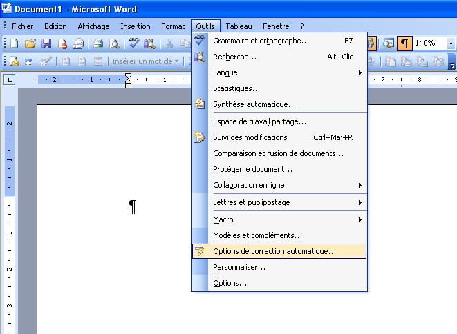 remplacer un mot dans un document word