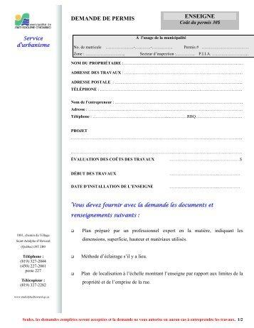 document permis de conduire canadien