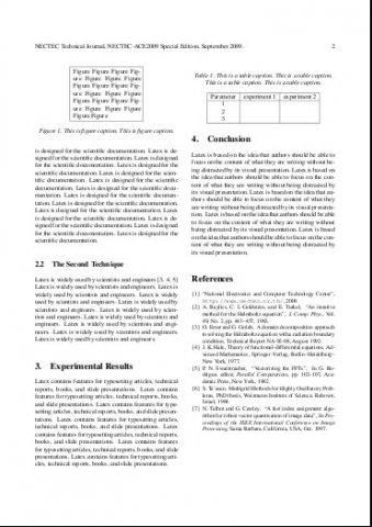 technical documentation template latex