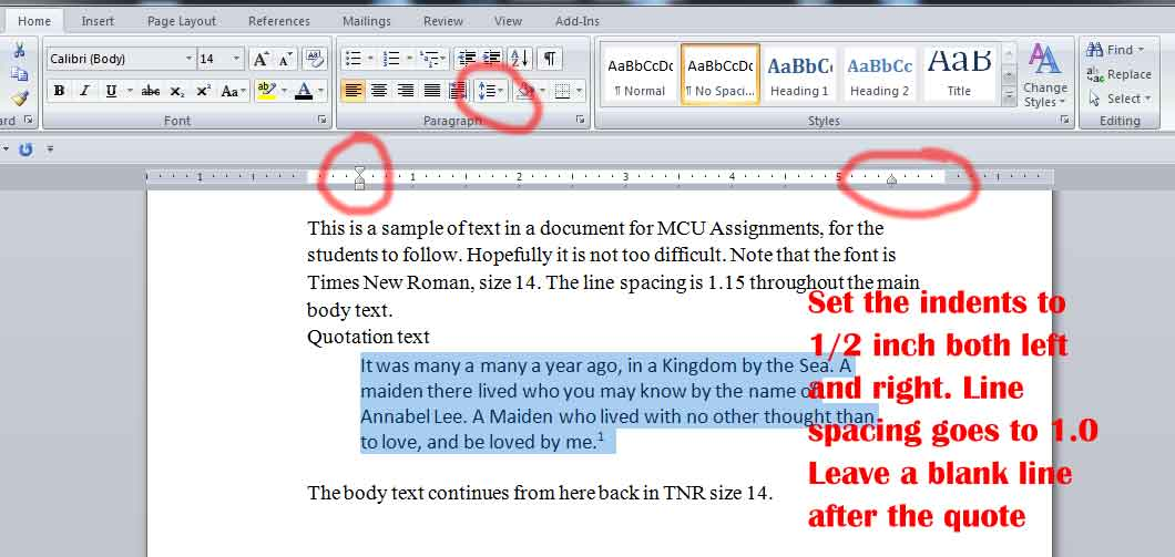what should the margins be on a word document