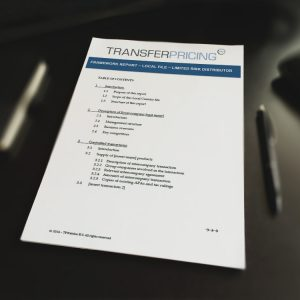 transfer pricing documentation requirements