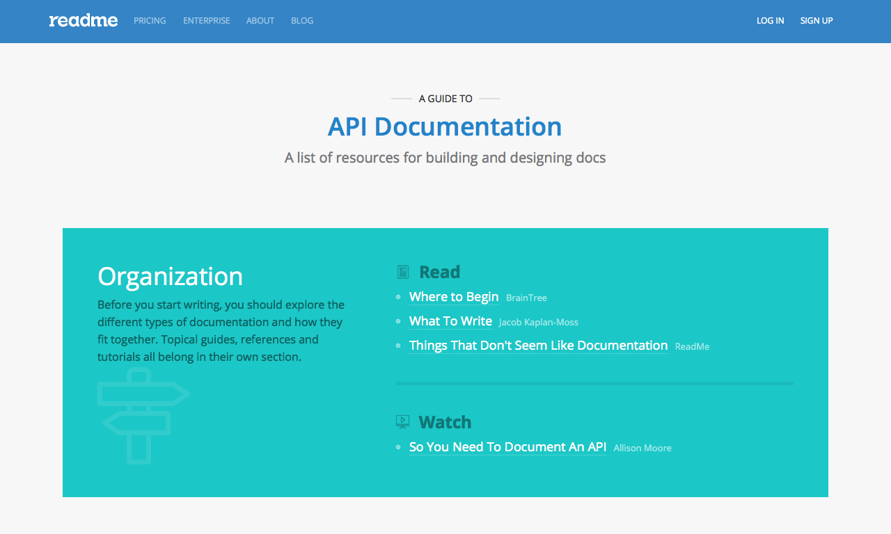 web api documentation tool