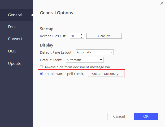how do you spell document