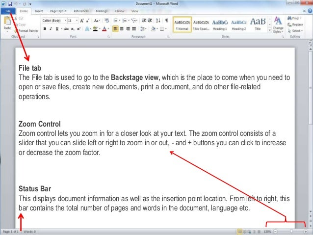 how to make word 2010 speak a document