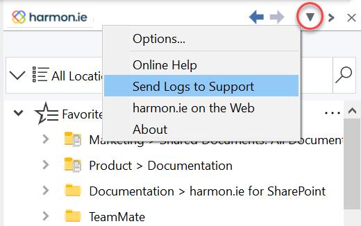 show harmon.ie menu site https harmon.ie documentation sharepoint outlook