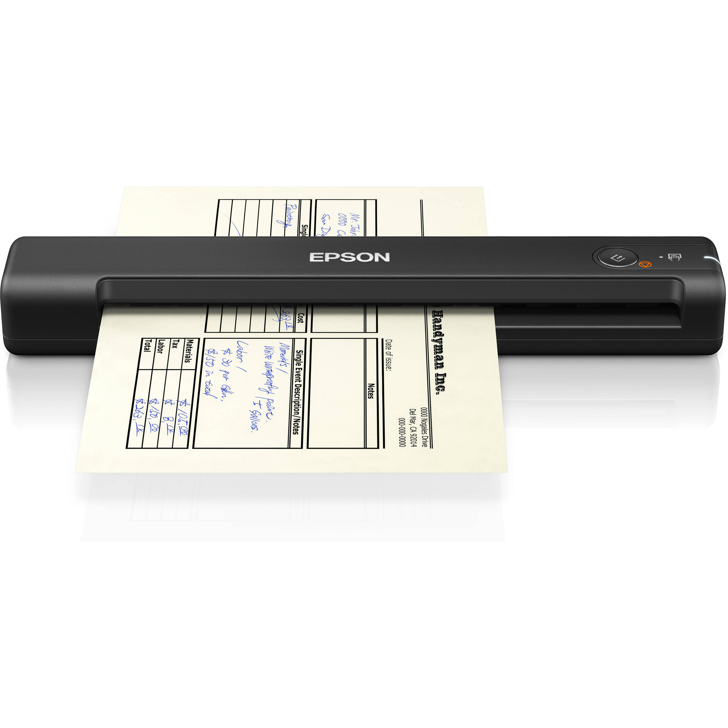 epson 550 scanner for document scanning