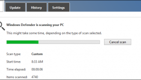 how to scan and send a document windows 8