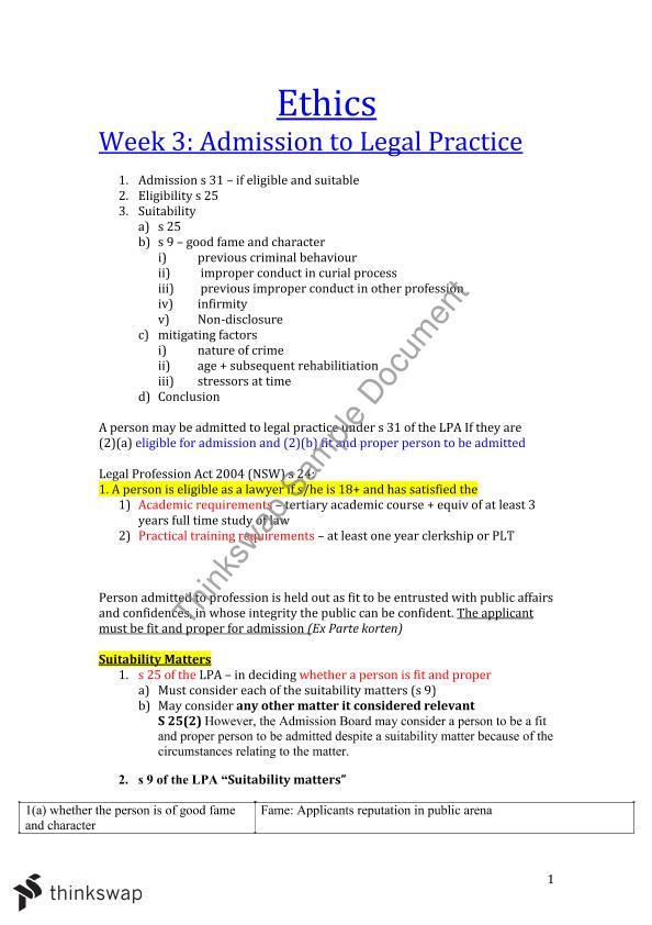 professional accountability and responsibility document
