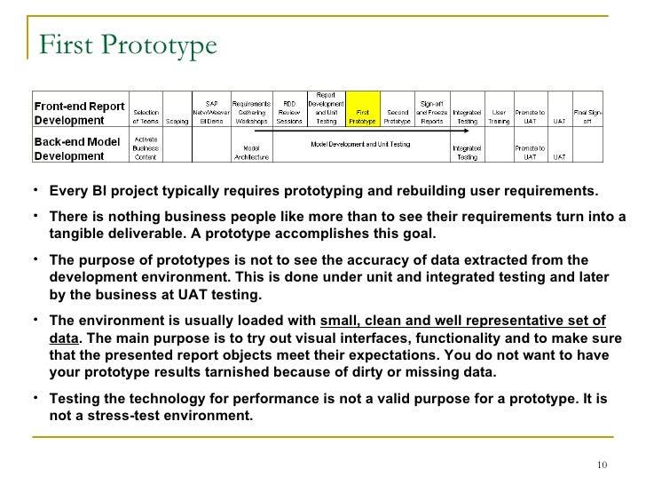 sap bi project documentation