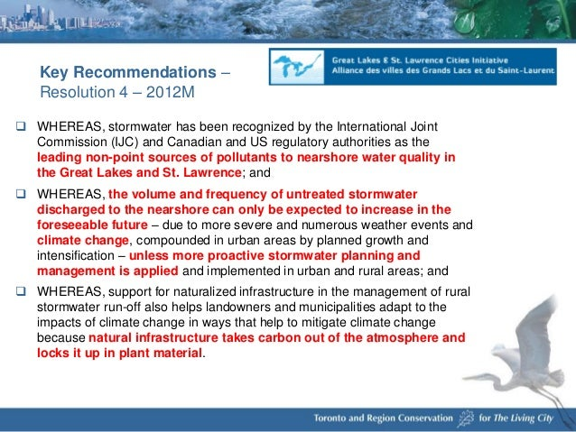 trca storm water management critera document