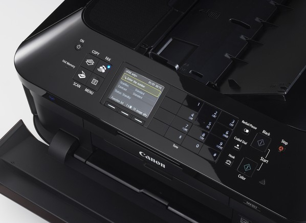 how to scan a document on a canon printer