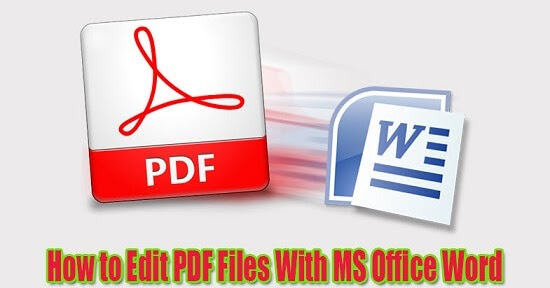 how to edit a document in pdf format