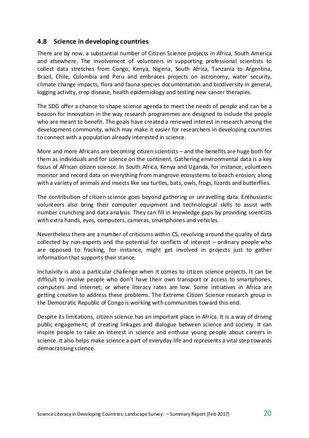 citizen documentation climate change