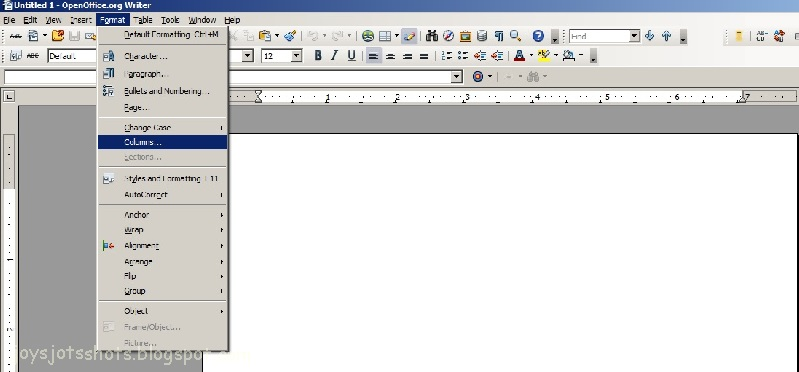 open office can open word document