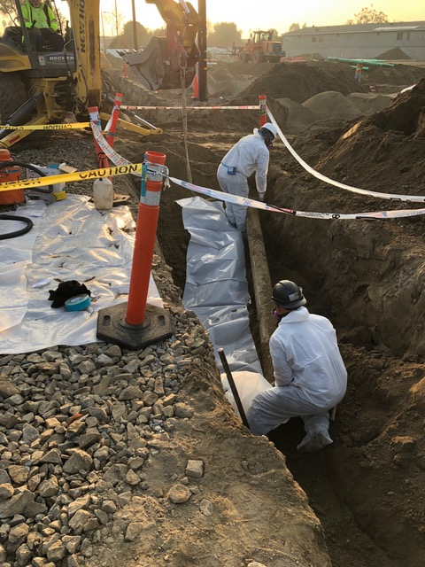 standard construction document cca asbestos