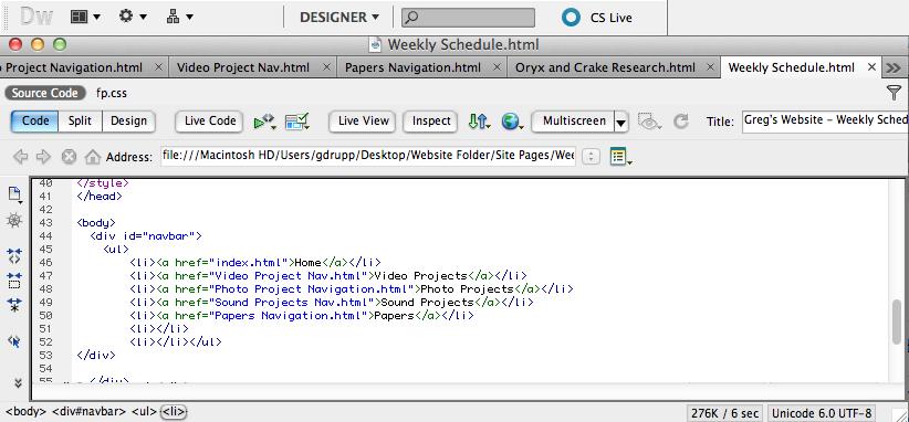 wordpress source code design document