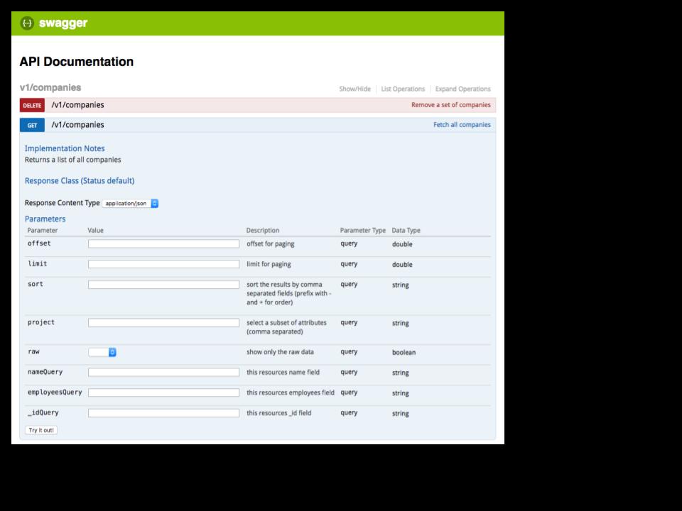 c auto generated documentation c api