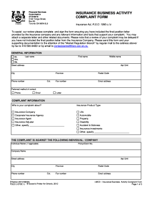 can i commission document for relative ontario
