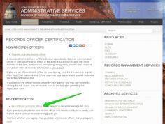 certificate in records and document management