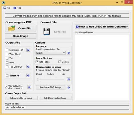 changer document pdf en jpeg