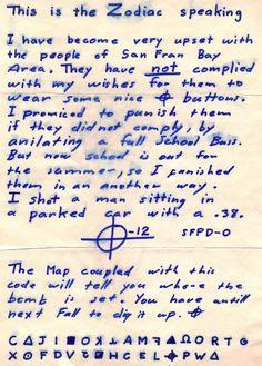 document tueur du zodiac de californie fr
