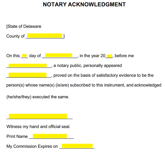 when do you need to notarize a document
