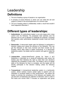 what made cesar chavez an effective leader document c