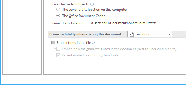 embed word document in gmail