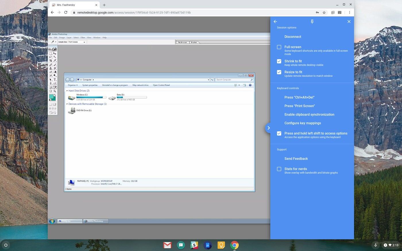 document on desktop wont appear after start up
