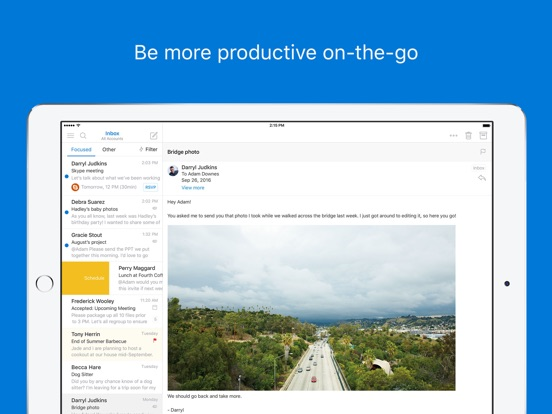 how to attach a document in exchange iphone email