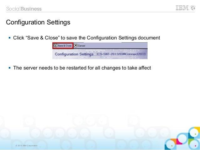 ibm connections 4.5 documentation