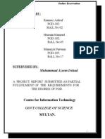 online resort reservation system thesis documentation