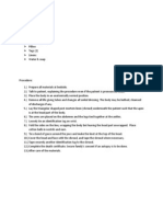 post mortem care documentation