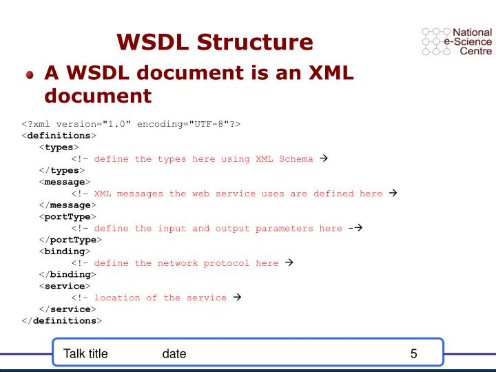 what is xml document structure