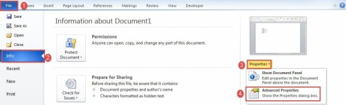word insert date document last modified